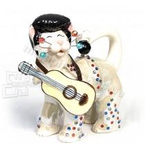 Фарфоровая статуэтка Pavone CMS кот Элвис 15 см
