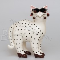 Фарфоровая статуэтка Pavone CMS кошка Шанелли 16 см