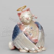 Фарфоровая статуэтка Pavone CMS кошка Анжелика 13 см