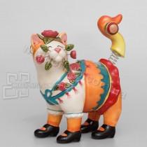 Фарфоровая статуэтка Pavone CMS кошка Матрена 17 см