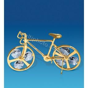 Фигурка AR-1219 Велосипед с кристаллами