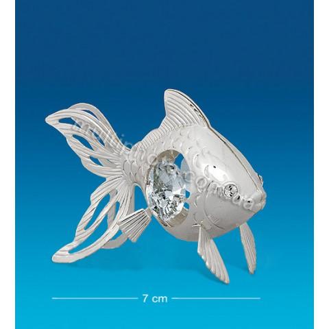 Серебристая фигурка AR-1262 Золотая рыбка