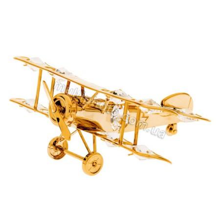 Позолоченая фигурка Юнион AR-3391 Самолет