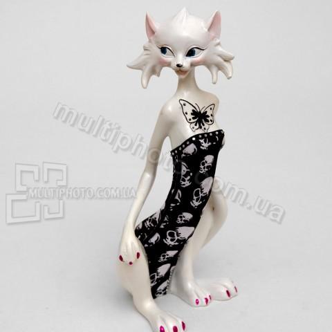 Фигурка SM-29 кошка Кутюрье в черном 23 см