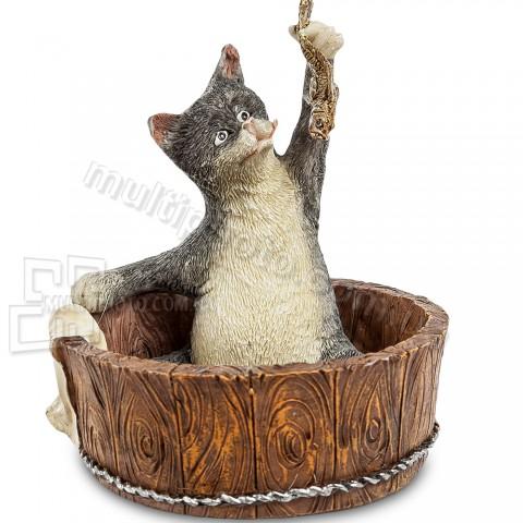 Статуэтка ED-193 кот поймал 10 см