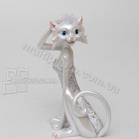 Статуэтка SM-140 кошка невеста 13 см