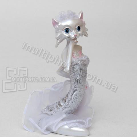 Статуэтка SM-141 кошка невеста 13 см