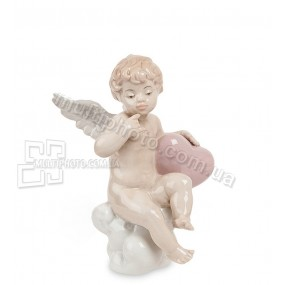 Фарфоровая фигурка амурчика Pavone JP-21-2 Покровитель любви