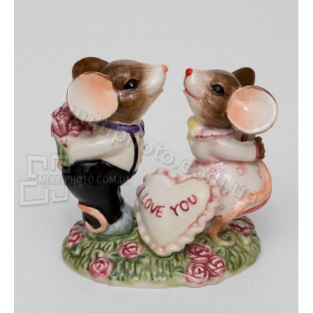 Керамическая статуэтка Pavone CMS влюбленная парочка 9 см