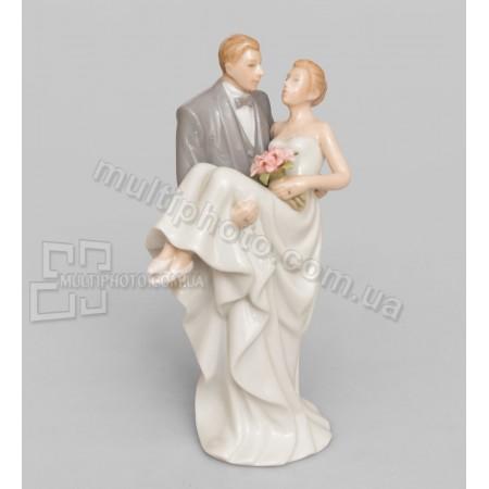 Фарфоровая статуэтка Pavone CMS влюбленная пара 15 см