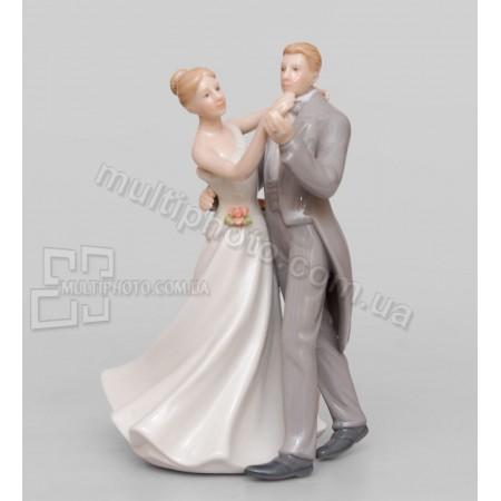 Фарфоровая статуэтка Pavone CMS влюбленные 15 см