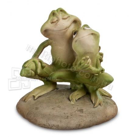 Фигурка ED- 76 влюбленые лягушки 9 см