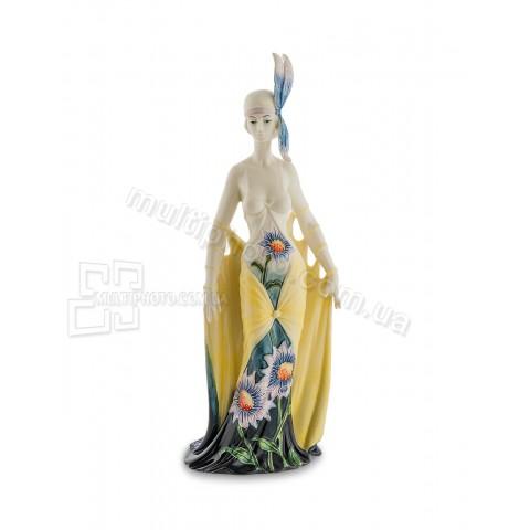 Статуэтка Pavone JP-98/25 девушка Хризантема