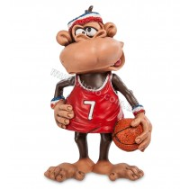 Фигурка Обезьяна Баскетболист W.Stratford RV-467