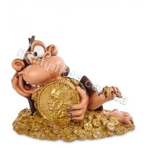 Фигурка Обезьяна Счастливая монета W.Stratford RV-482