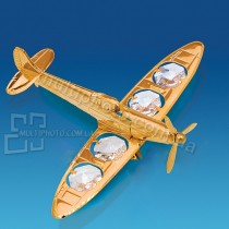 Позолоченая фигурка Юнион AR-4377 Самолет