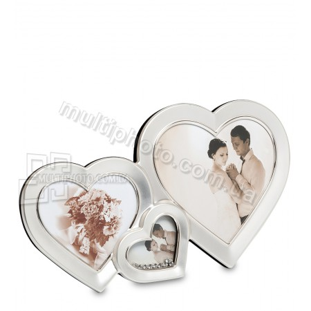 Фоторамка CHK-039 Влюблённые сердца на 3 фото
