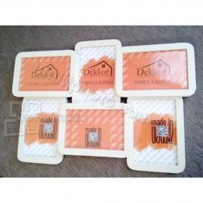 Мультирамка на 6 фото Decor for home 31x45 см