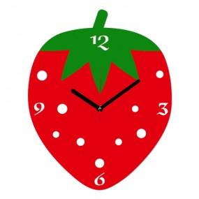 Настенные часы Клубничка 1-0004