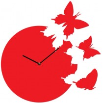 Часы настенные 3 Бабочки 1-0016
