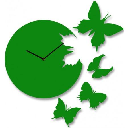 Часы настенные 4 Бабочки 1-0020