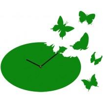 Часы настенные Бабочки Овальные 1-0032