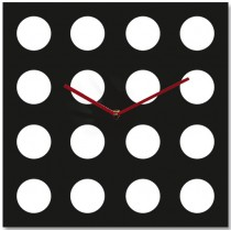 Часы настенные Белые круги 1-0033