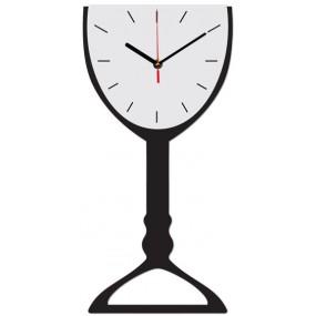 Часы настенные Бокал 1-0035