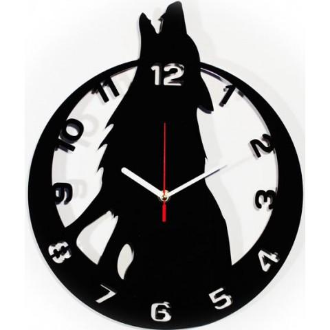 Часы настенные Волк 1-0040