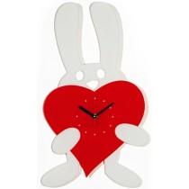 Часы настенные Заяц с сердцем 1-0057