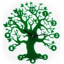 Часы настенные Зеленое дерево 1-0066