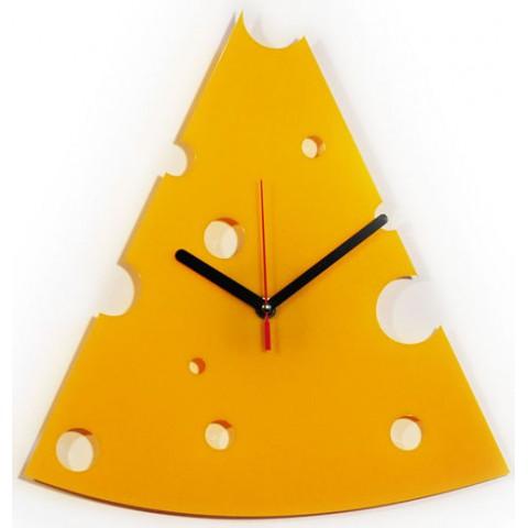 Часы настенные Кусок сыра 1-0087