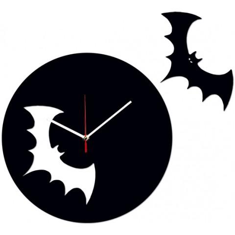 Часы настенные Летучая мышь 1-0090