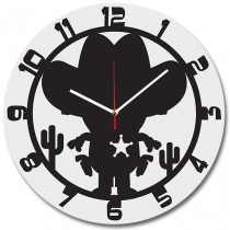 Часы настенные Маленький шериф 1-0091