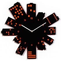 Часы настенные Ночной город 1-0096
