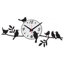 Часы настенные Птички на ветке 1-0104