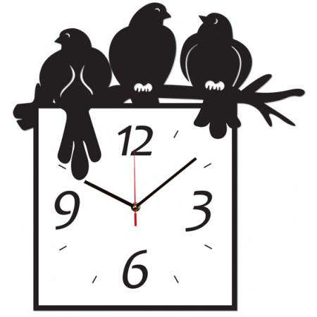 Часы настенные Птички 1-0105