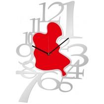 Часы настенные Пятно с цифрами 1-0106