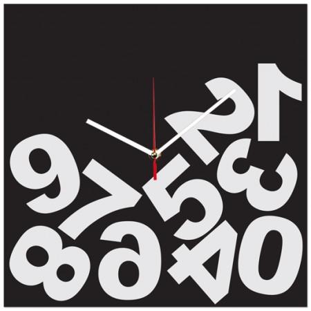 Часы настенные Упали цифры 1-0129