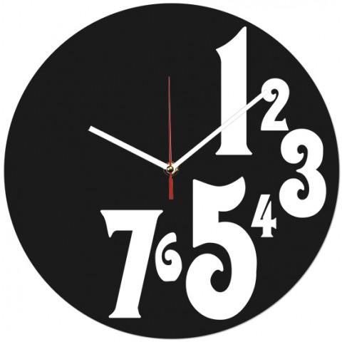 Часы настенные Цифры 1-7 1-0134