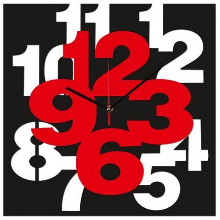 Часы настенные Цифры на цифрах 1-0138