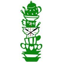 Часы настенные Чайный сервиз 1-0139