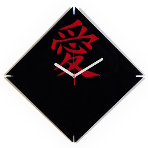 Настенные часы с иероглифом Любовь 1-0192