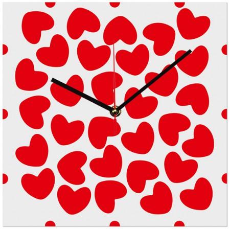 Настенные часы Сердечные 1-0194