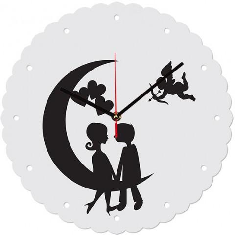 Настенные часы Купидон 1-0198