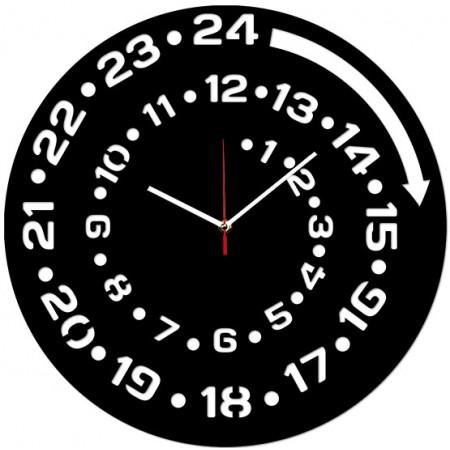 Настенные часы Круглосуточные 1-0199