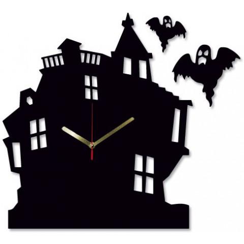 Часы настенные Дом с привидениями 1-0220