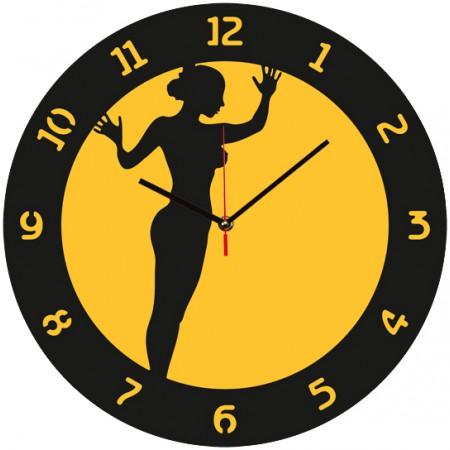 Настенные часы Голая правда 1-0245