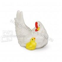 Фарфоровая статуэтка Lefard Курица 7 см