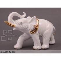 Декоративная фарфоровая статуэтка Мудрый слон